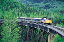 Via Rail's Skeena - (Photo Credit: �Tourism British Columbia)